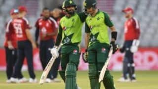 England vs Pakistan 3rd T20: हफीज और हैदर अली के दम पर पाक ने इंग्लैंड को हराया, सीरीज 1-1 से बराबर