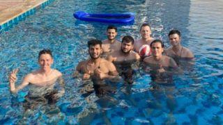 IPL 2020 : मुंबई इंडियंस खिलाड़ियों के साथ UAE में दिखे अर्जुन तेंदुलकर, फैंस में खुशी की लहर