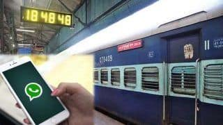 IRCTC Latest News: Now You Can Check PNR Status & Other Details of Train Journey on Whatsapp | Details Inside