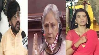 बीजेपी सांसद रवि किशन के समर्थन में आई भोजपुरी एक्ट्रेस अक्षरा सिंह, जया बच्चन पर भड़की