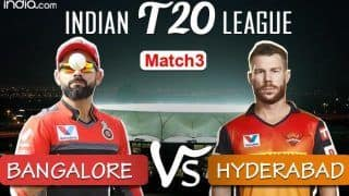 MATCH HIGHLIGHTS IPL 2020 Sunrisers Hyderabad vs Royal Challengers Bangalore, Match 3: Chahal, Saini Star as RCB Beat SRH by 10 Runs