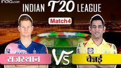 IPL Live Score, RR vs CSK Match Updates in Hindi: केदार जाधव के बैक टू बैक तीन चौके