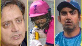 IPL 2020: शशि थरूर के संजू सैमसन की तुलना MS Dhoni से करने पर बरसे गौतम गंभीर, बोले-उसे कोई और बनने की...