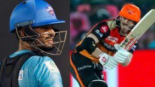 IPL 2020 SRH vs DC Live Streaming : जानें आज कब और कहां होगी डेविड वॉर्नर-श्रेयस अय्यर की टक्कर