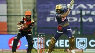 IPL 2020 Report: Gill Powers KKR to Clinical Seven-wicket Win Over Sunrisers Hyderabad