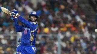 Live mi vs csk sourabh tiwary quinton de kock guide mumbai indians to 162 9 against chennai super kings 4146418