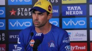 Ipl 2020 stephen fleming feels sam curran did not let us miss dwayne bravo 4148306