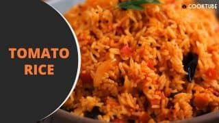 Watch: Easy-Breezy Tomato Rice Recipe For Days When You Want to do Some Quick Cooking