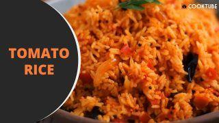 Tomato Rice Recipe In Hindi: बनाना चाहते हैं झटपट कोई डिश तो ट्राई करें टोमेटो राइस, ये है आसान रेसिपी