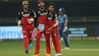 IPL 2020 Points Table Latest Update After RCB vs MI, Match 10: Kohli's Royal Challengers Bangalore Move to 3rd Spot After Beating Mumbai Indians in Super Over Thriller