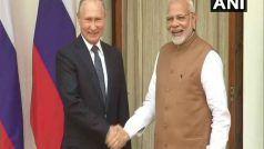 PM मोदी, प्रेसिडेंट पुतिन के बीच टेलिफोन पर हुई बातचीत, रिश्तों को मजबूत करने का लिया संकल्प