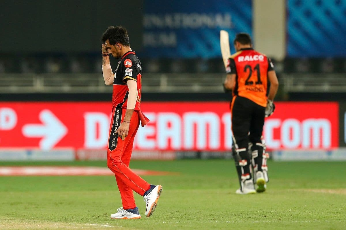 IPL 2020: RCB Captain Kohli Heaps Praise on Game Changer Chahal After  Spinner Match-winning Spell vs SRH | India.com cricket news.