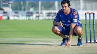 IPL: Without Saliva Will be Difficult for Bowlers to Adjust, Feels MI Coach Zaheer Khan