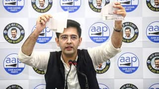 AAP's Raghav Chadha Tears Up Slum Demolition Notice, Says Will Move Supreme Court Against Centre
