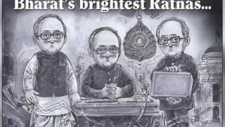 'One of Bharat's Brightest Ratnas': Amul Pays Tribute to Former President Pranab Mukherjee With a Heartfelt Doodle