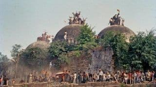 Babri Masjid Demolition Case: Verdict on September 30; All Accused Including Advani, Joshi Asked to Be Present in Court