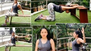 Bhagyashree Shares How You Can De-stress While Working From Home, in This New Workout Video