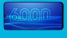 6000mAh Battery Smartphones: देखें 6000mAh बैटरी वाले पावरफुल स्मार्टफोन, दाम भी कम