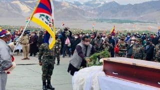 In Strong Signal to China, BJP Leader Ram Madhav Visits Tibetan Soldier's Funeral in Ladakh