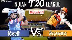 HIGHLIGHTS, DC vs SRH: राशिद-भुवनेश्वर की शानदार गेंदबाजी से हैदराबाद ने दर्ज की पहली जीत