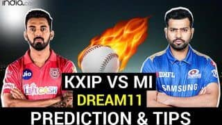 KXIP vs MI Dream11 Team Prediction Dream11 IPL 2020: Captain, Vice-captain, Fantasy Playing Tips, Probable XIs For Today's Kings XI Punjab vs Mumbai Indians T20 Match at Shiekh Zayed Stadium, Abu Dhabi 7.30 PM IST Thursday, October 1