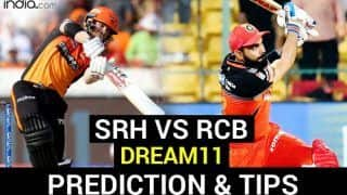 SRH vs RCB Dream11 Team Prediction IPL 2020: Captain, Vice-Captain, Fantasy Playing Tips, Probable XIs For Today's Sunrisers Hyderabad vs Royal Challengers Bangalore T20 Eliminator 1 at Sheikh Zayed stadium in Abu Dhabi 7.30 PM IST November 6 Friday