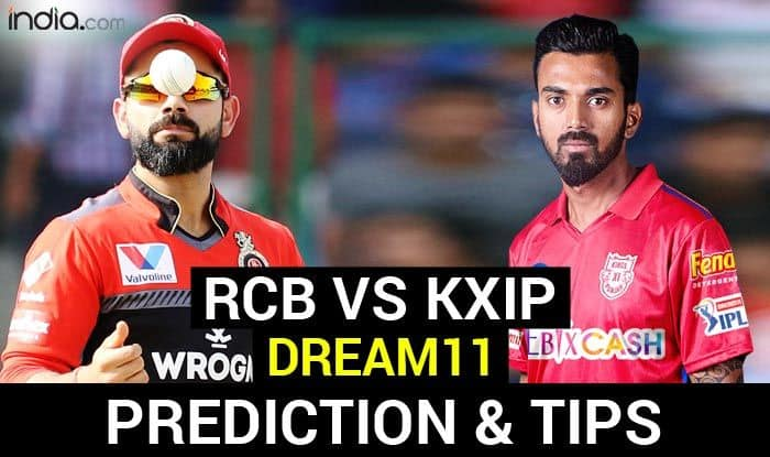 KXIP vs RCB Dream11 Team Tips, IPL 2020 Captain And Vice-Captain