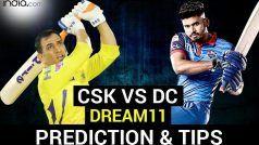 CSK vs DC Dream11 Team Prediction IPL 2020: जानें, चेन्नई सुपरकिंग्स और दिल्ली कैपिटल्स के संभावित प्लेइंग XI के बारे में
