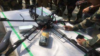 पाकिस्तान ने जम्मू-कश्मीर में ड्रोन से गिराए हथियार, लश्कर के तीन आतंकी गिरफ्तार