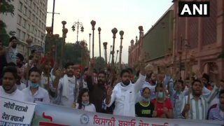 Bharat Bandh: 'Rail Roko' in Punjab, Blockades in Haryana as India Witnesses Farmer Protest Over Farm Bills | Top Points