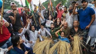 Congress, Opposition Parties Hold Protest Against Farm Bills; to Move Supreme Court | Top Developments