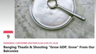 'Bang Thaalis & Shout Grow GDP, Grow': Facebook Event Taking a Dig at India's Falling GDP Goes Viral!