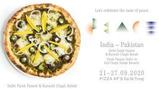 Palak Paneer & Kebab Pizza, Anyone? Vietnamese Restaurant Introduces India-Pakistan 'Peace Pizza'; Twitter Is Not Impressed