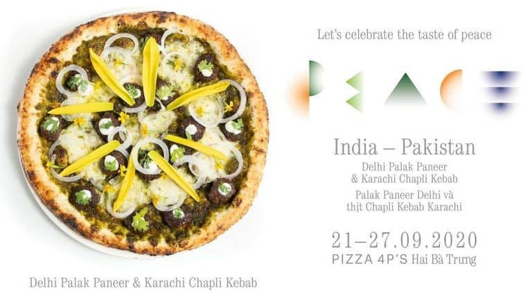 Vietnamese Restaurant Introduces India-Pakistan    Peace Pizza   , Twitter Is Not Impressed