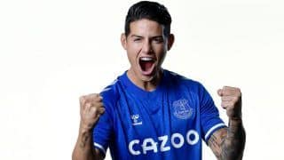 Football Transfer: James Rodriguez Joins Everton FC From Real Madrid on Two-Year Deal