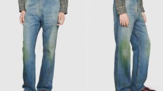 Gucci Unveils Jeans With Fake Grass Stains For Whopping Rs 88,000, Internet Left Baffled!