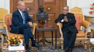 Pranab Mukherjee Believed Deeply in Tackling Global Challenges Together: Joe Biden