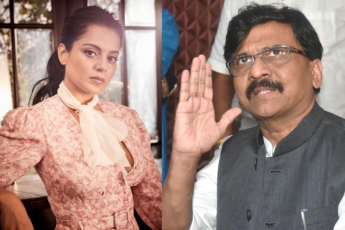 Kangana Ranaut Gets Y Level Security Amid Ongoing Fight With Shiv Sena  Leader Sanjay Raut   India.com  - kangana ranaut sanjay raut pakistan occupied kashmir main