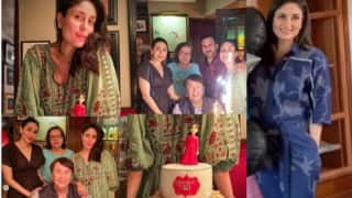 Fabulous 40: Kareena Kapoor Khan's Birthday Cake, Party Pictures With Family, Pregnancy Glow Are Unmissable