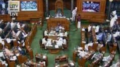 Monsoon Session: Amid Opposition Protests, Lok Sabha Likely to be Adjourned Sine Die Tomorrow