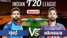 HIGHLIGHTS, KKR vs MI:  रोहित शर्मा की धमाकेदार पारी से मुंबई ने दर्ज की 49 रन से जीत