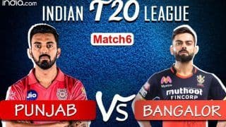 Dream11 IPL 2020 LIVE SCORE And Updates KXIP vs RCB