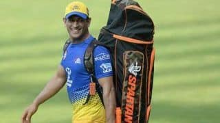IPL 2020: MS Dhoni Shows His Funny Side During CSK Net Session a Day After BCCI Release Schedule | WATCH