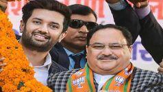 Bihar Assembly Election 2020: जेपी नड्डा से मिले चिराग पासवान, मुलाकात हुई, क्या बात हुई...