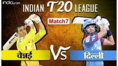 LIVE IPL SCORE, CSK vs DC Updates: अर्धशतक जड़ पृथ्वी शॉ भी लौटे पवेलियन, दिल्ली 103/2