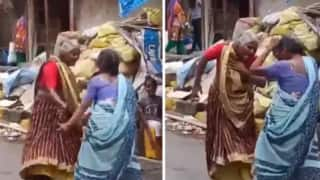 Watch: Two Elderly Women Dance to Helen's 'Piya Tu Ab Toh Aaja' on Street, Netizens Bowled Over By Their Energy
