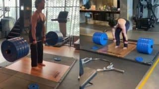 Looking For Fitness Inspiration? Watch Tiger Shroff Doing Deadlifts With 220 Kilos of Weight
