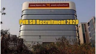 PNB SO Results 2020 Declared at pnbindia.in | Here's Direct Link
