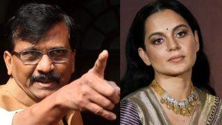 संजय राउत की 'अपमानजनक' टिप्पणी पर कंगनाका रिएक्शन, कहा- पहले 'पागल' बोला, फिर 'विच' और अब...