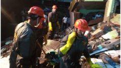 महाराष्ट्र के भिवंडी में तीन मंजिला इमारत ढही, 8 लोगों की मौत- कइयों के फंसे होने की आशंका